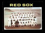 1971 Topps #386   Red Sox Team Front Thumbnail