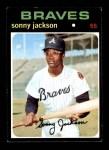 1971 Topps #587  Sonny Jackson  Front Thumbnail