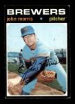 1971 Topps #721  John Morris  Front Thumbnail