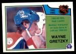 1983 O-Pee-Chees #215   -  Wayne Gretzky League Leaders Front Thumbnail