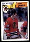 1983 O-Pee-Chees #111  Denis Savard  Front Thumbnail