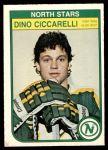 1982 O-Pee-Chee #165  Dino Ciccarelli  Front Thumbnail