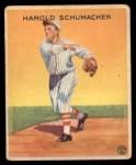 1933 Goudey #129  Hal Schumacher  Front Thumbnail