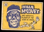 1970 Topps #450   -  Willie McCovey All-Star Back Thumbnail