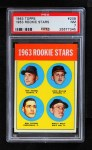 1963 Topps #208   -  Ron Herbel / John Miller / Wally Wolf / Ron Taylor Rookie Stars   Front Thumbnail