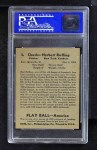 1939 Play Ball #3  Red Ruffing  Back Thumbnail