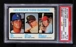 1973 Topps #615   -  Mike Schmidt / Ron Cey / John Hilton Rookie Third Basemen Front Thumbnail