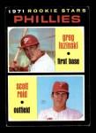 1971 Topps #439   -  Greg Luzinksi / Scott Reid Phillies Rookies Front Thumbnail