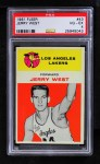 1961 Fleer #43  Jerry West  Front Thumbnail