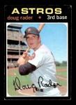 1971 Topps #425  Doug Rader  Front Thumbnail