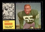 1962 Topps #124  Maxie Baughan  Front Thumbnail