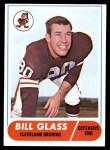 1968 Topps #154  Bill Glass  Front Thumbnail