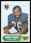 1968 Topps #179  Bennie McRae  Front Thumbnail