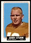 1964 Topps #63  Jerry Sturm  Front Thumbnail