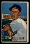 1951 Bowman #10  Red Schoendienst  Front Thumbnail