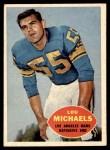 1960 Topps #69  Lou Michaels  Front Thumbnail