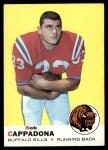 1969 Topps #40  Bob Cappadona  Front Thumbnail