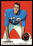 1969 Topps #109  Paul Guidry  Front Thumbnail