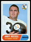 1968 Topps #163  Andy Russell  Front Thumbnail