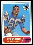 1968 Topps #115  Rick Redman  Front Thumbnail