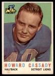 1959 Topps #85  Howard Cassady  Front Thumbnail