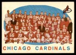 1959 Topps #118   Cardinals Team Checklist Front Thumbnail