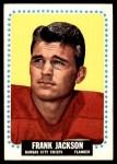 1964 Topps #102  Frank Jackson  Front Thumbnail