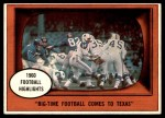 1961 Topps #19   -  Eddie LeBaron 1960 Football Highlights Front Thumbnail