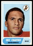 1968 Topps #95  Eric Crabtree  Front Thumbnail