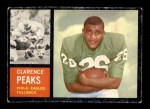 1962 Topps #118  Clarence Peaks  Front Thumbnail