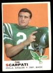 1969 Topps #176  Joe Scarpati  Front Thumbnail
