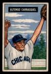 1951 Bowman #60  Chico Carrasquel  Front Thumbnail