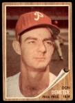 1962 Topps #146 GRN Don Demeter  Front Thumbnail
