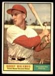 1961 Topps #530  Bobby Malkmus  Front Thumbnail