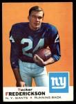 1969 Topps #15  Tucker Frederickson  Front Thumbnail