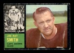 1962 Topps #30  Jim Ray Smith  Front Thumbnail