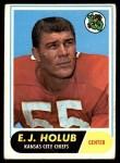 1968 Topps #145  E.J. Holub  Front Thumbnail