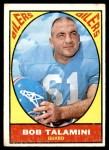 1967 Topps #54  Bob Talamini  Front Thumbnail