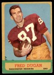 1963 Topps #161  Fred Dugan  Front Thumbnail