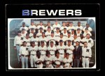 1971 Topps #698   Brewers Team Front Thumbnail