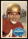1960 Topps #126  Bill Anderson  Front Thumbnail