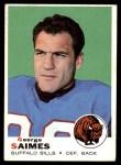 1969 Topps #142  George Saimes  Front Thumbnail