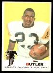 1969 Topps #228  Jim Butler  Front Thumbnail