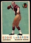 1959 Topps #150  Eddie LeBaron  Front Thumbnail