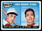 1965 Topps #501   -  Jim Rittwage / Ralph Gagliano Indians Rookies Front Thumbnail