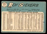 1965 Topps #574  Roy Sievers  Back Thumbnail
