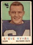 1959 Topps #43  Steve Myhra  Front Thumbnail