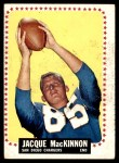 1964 Topps #167  Jacque MacKinnon  Front Thumbnail