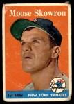 1958 Topps #240  Bill Skowron  Front Thumbnail