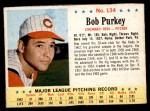 1963 Post Cereal #134  Bob Purkey  Front Thumbnail